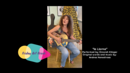 Dinorah Klingler performs as part of Sacramento's new Friday Art Break
