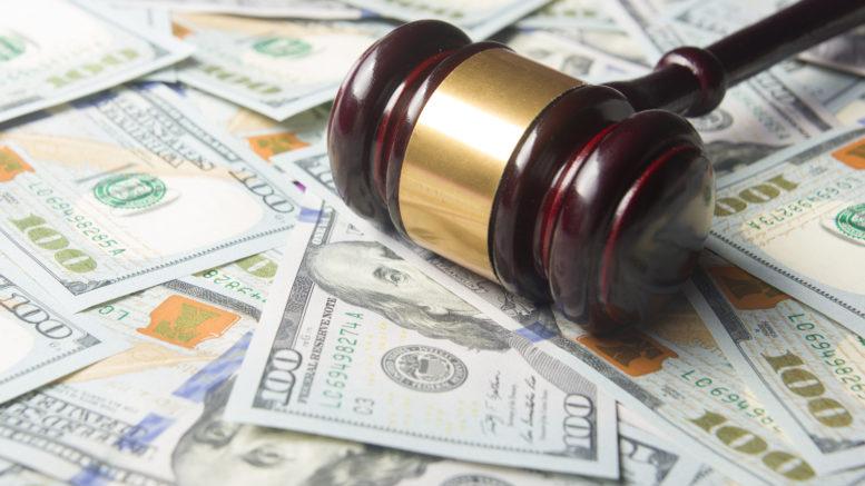 judge's gavel money