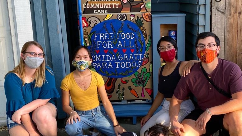Volunteers with Sacramento Community Fridges